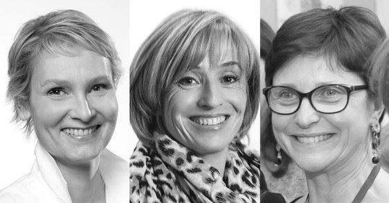 Sérum antiarrugas. Tras bambalinas: Tres mujeres explican el desarrollo de un sérum antiarrugas